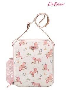 Белая сумка для завтраков с единорогами Cath Kidston® Kids