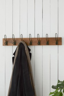 Bronx Wood And Metal Hooks
