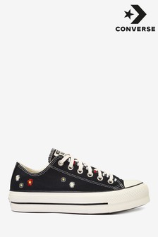 Converse Floral Lift Ox Trainers