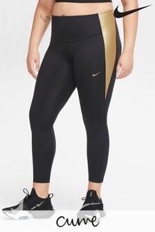 Nike Curve One Leggings,Metallic