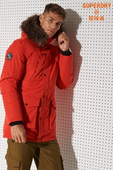 Superdry Sport Everest Down Snow Parka Coat (882785)   $415