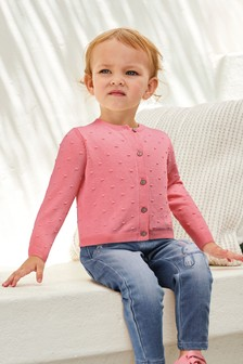 Bobble Cardigan (3mths-7yrs)