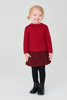 Crochet Collar Jumper (3mths-7yrs)