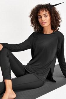 Nike Long Sleeve Yoga Training T-Shirt