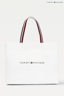 Tommy Hilfiger Einkaufstasche, Weiß