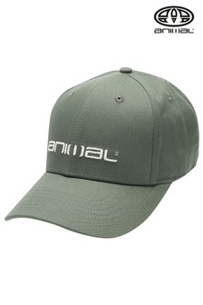 Animal Dusty Olive Green Integral Cap