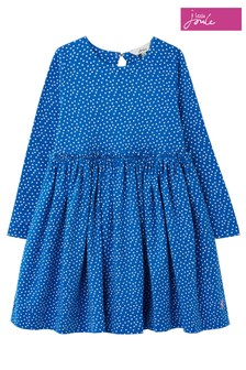 Joules HamptomKleid mit Paperbag-Taille, Blau
