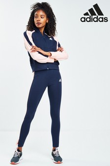 adidas Team Sports Bomber And Leggings Set