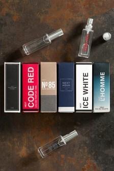 Mens 6 Scents 10ml Fragrance Wardrobe