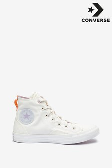 Converse White Vintage Hightop Trainers