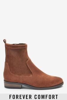 Ponožkové čižmy na nízkom podpätku Forever Comfort®