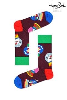Happy Socks Men's Snow Globe Socks