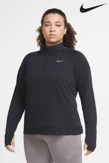 Nike Curve Pacer Lauf-Top mit halblangem Reißverschluss