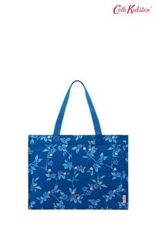 Синяя сумка-тоут с цветочным узоромCath Kidston Greenwich Sidekick