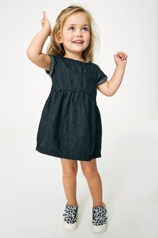 Kleid mit Taschendetail (3Monate bis 7Jahre)