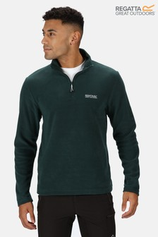 Regatta Green Thompson Half Zip Fleece (886186)   $19