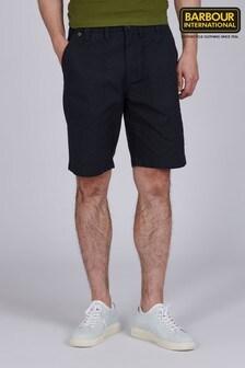 Barbour International Black Patch Pocket Shorts