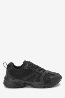 Массивные кроссовки с эластичными шнурками (Подростки)
