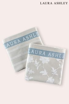 Set of 2 Laura Ashley Heritage Collectables Kitchen Towels