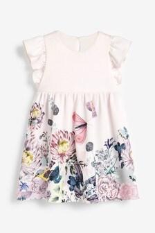 Платье с цветочным принтом (3 мес.-7 лет)
