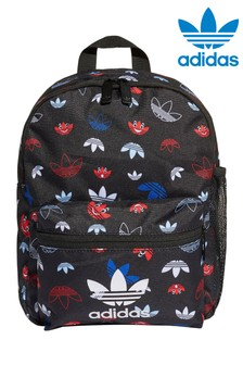 adidas Orginals Kids Face Trefoil Print Backpack