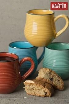 La Cafetiere Set of 4 Espresso Mugs