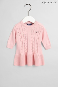 GANT Cotton Cable Dress