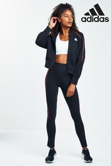 adidas チームスポーツ ボンバー & レギンスセット