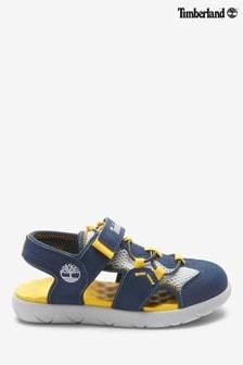 Timberland® Navy Perkins Row 2 Strap Sandals
