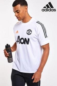 adidas Manchester Utd トレーニング Tシャツ