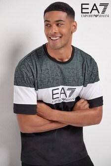 Emporio Armani EA7 Black Multi T-Shirt