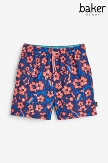 Пляжные шорты с принтом роз Baker by Ted Baker (для мальчиков)