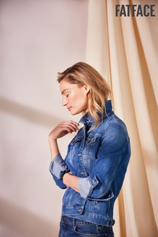 FatFace Angie Smith Edit Blue Tasha Denim Jacket