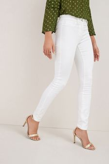 Leggings in denim elasticizzati