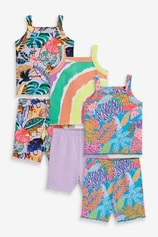 3 Pack Cami Short Pyjamas (9mths-16yrs)