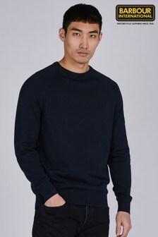 סוודר עם צווארון עגול מכותנה של Barbour® International