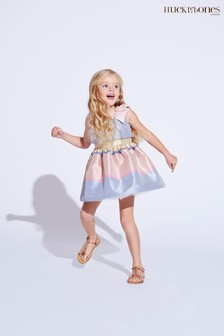 Hucklebones Pink Stripe Dress