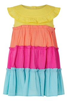 Monsoon S.E.W Baby Colourblock Dress