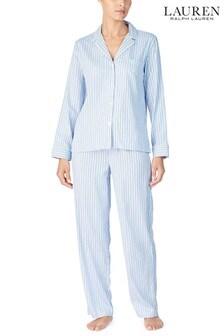 PIjama de rayas en azul deLauren Ralph Lauren®