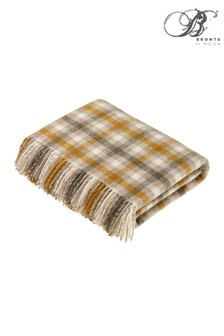 Bronte by Moon Bibury Shetland Wool Throw