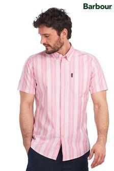 قميص مقلم وردي من Barbour®