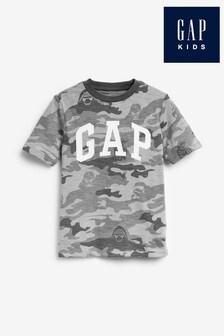 Maskáčové tričko Gap
