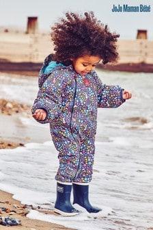 JoJo Maman Bébé Waterproof Fleece Lined All-In-One