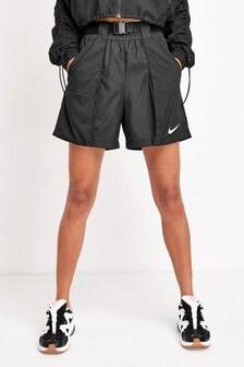 Șort Nike Swoosh negru