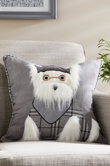 Подушка с собакойSherlock Scottie