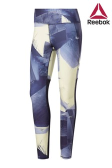 Reebok Purple All Over Print Leggings