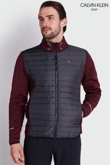 Calvin Klein Golf Purple Wrangell Hybrid Jacket