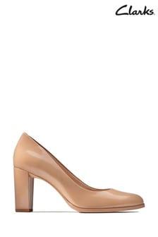 Clarks Praline Patent Kaylin Cara Schuhe