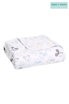 aden + anais™ Dream Blanket Cotton Muslin Disney® Baby - Mickey Mouse™ + Minnie Mouse™