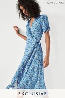 Mix/Brogger Floral Wrap Dress